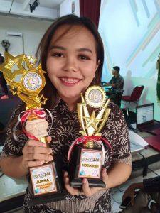 Juara Pertama kategori Videography dan Putra-Putri Kampus
